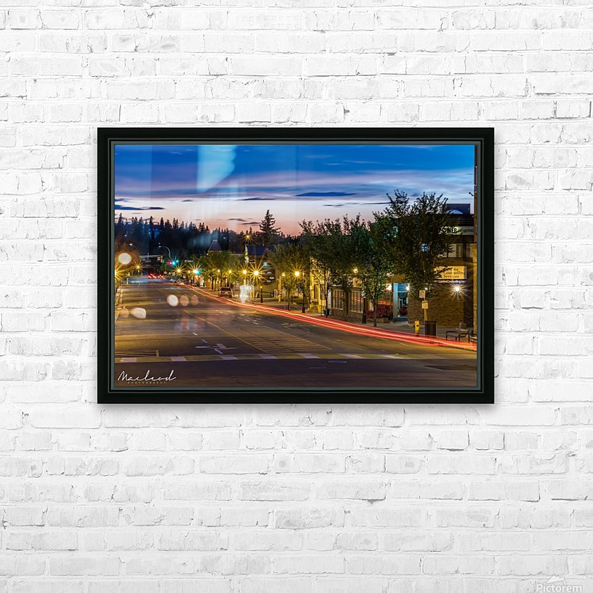 PerronSt_StAlbert_July2018_MG_2521 HD Sublimation Metal print with Decorating Float Frame (BOX)