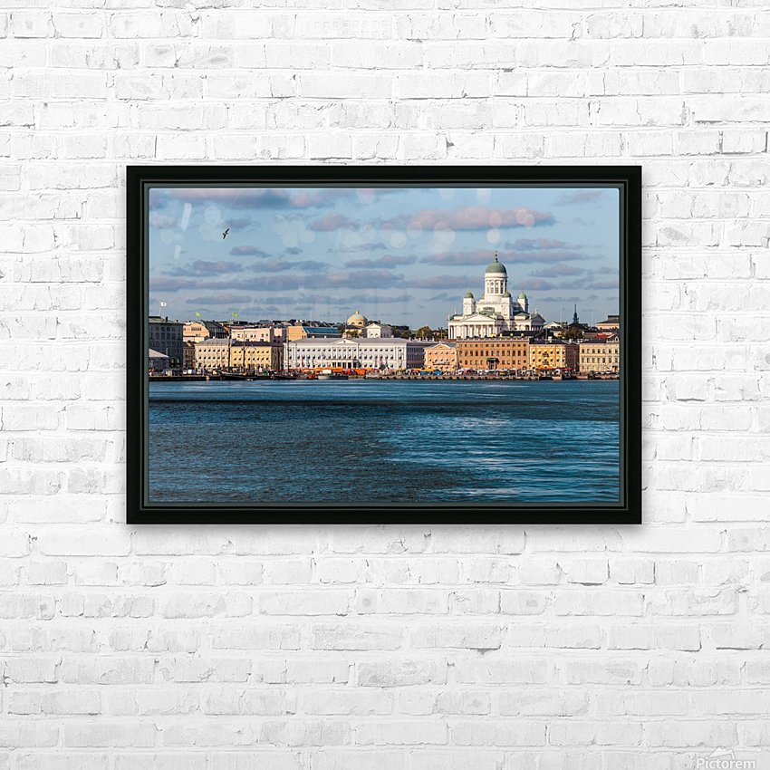 HELSINKI 01 HD Sublimation Metal print with Decorating Float Frame (BOX)