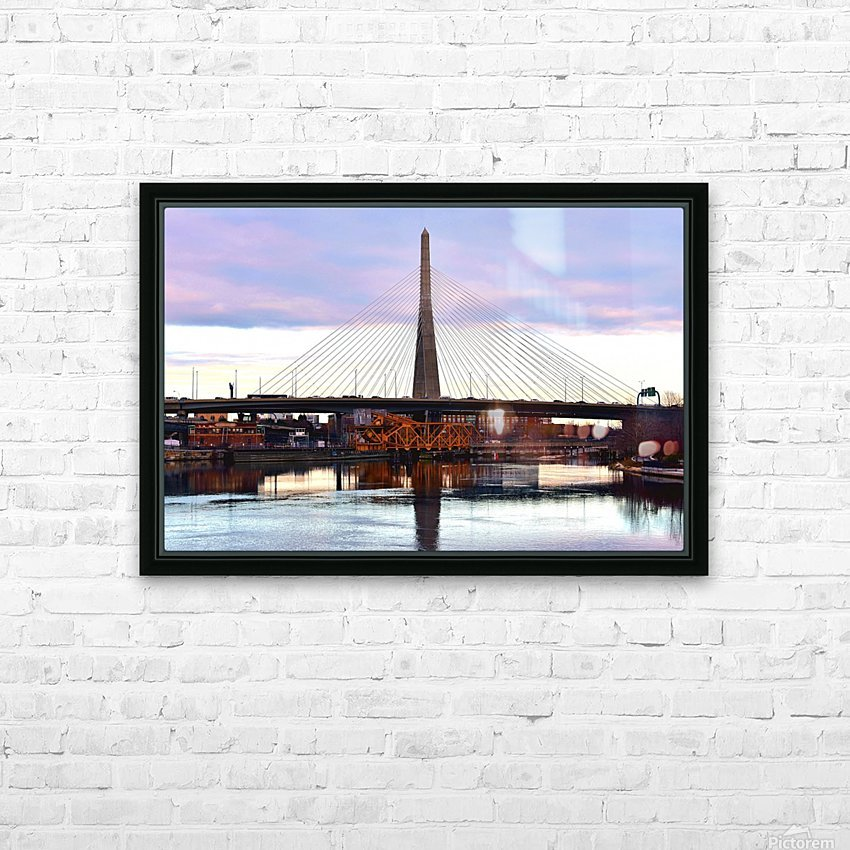 12.5.18 Zakim HD Sublimation Metal print with Decorating Float Frame (BOX)