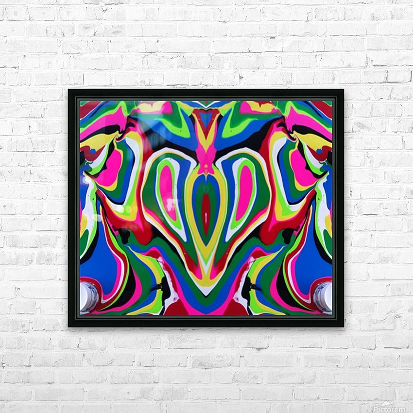 Heart and Soul HD Sublimation Metal print with Decorating Float Frame (BOX)