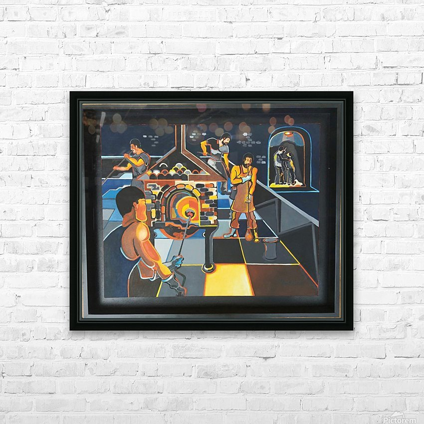 La verrerie  HD Sublimation Metal print with Decorating Float Frame (BOX)
