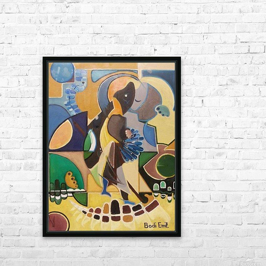 Desert laugh sourire desertique HD Sublimation Metal print with Decorating Float Frame (BOX)