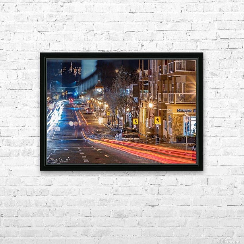 PerronSt_Trailights_DSC4885 Edit HD Sublimation Metal print with Decorating Float Frame (BOX)