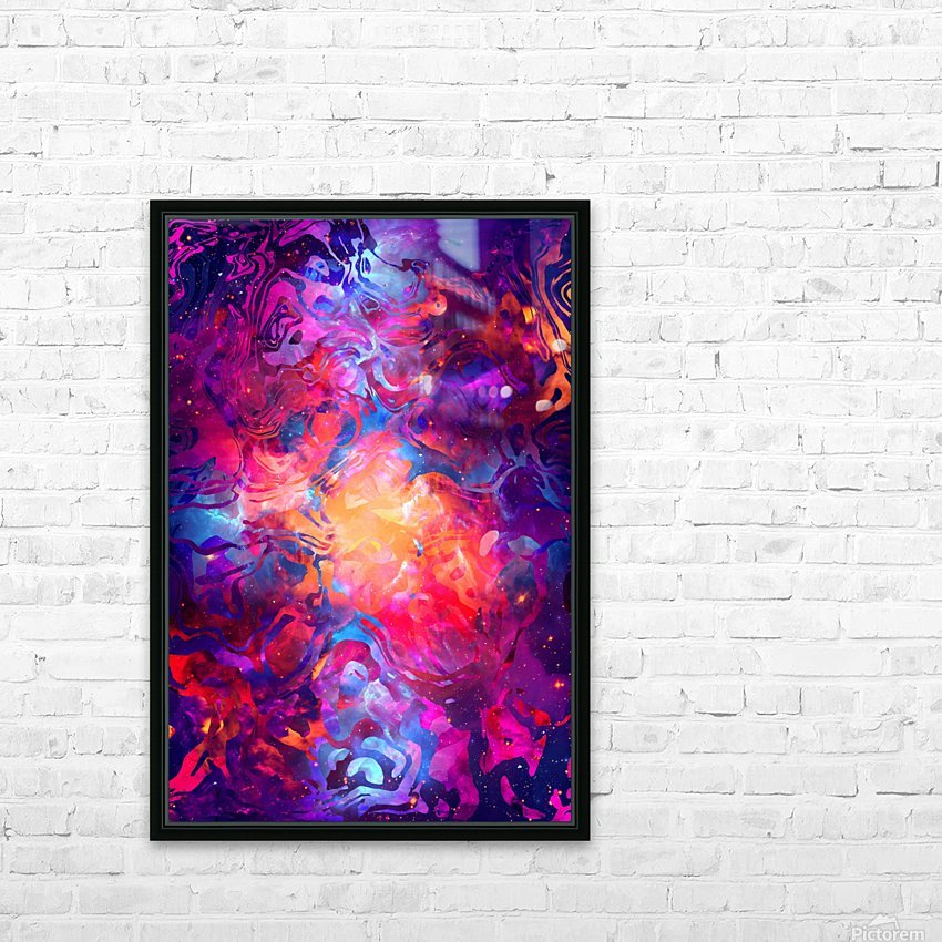 PR00 (1) HD Sublimation Metal print with Decorating Float Frame (BOX)
