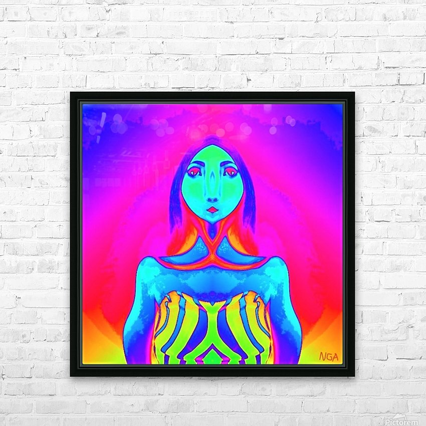 The Other Woman by neil gairn adams  HD Sublimation Metal print with Decorating Float Frame (BOX)