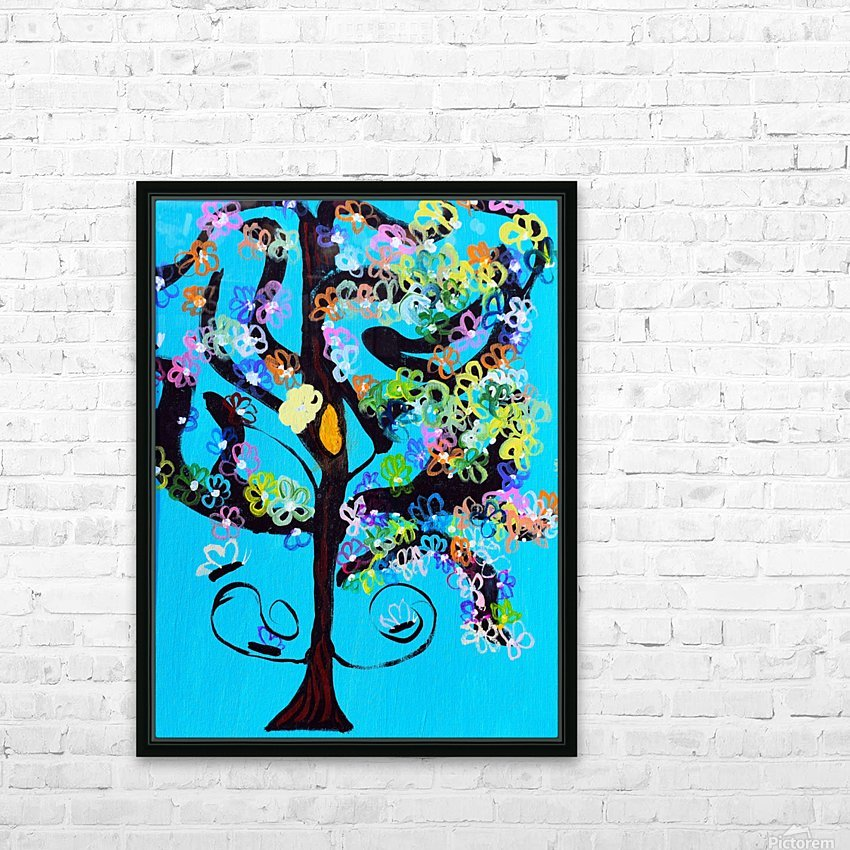 Free Spirit Tree. Molly H HD Sublimation Metal print with Decorating Float Frame (BOX)