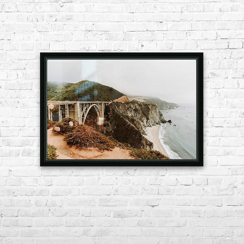 Bixby Bridge California HD sublimation métal imprimé avec décoration flotteur cadre (boîte)