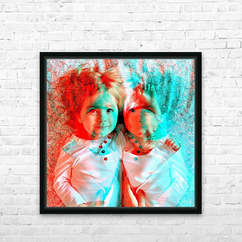 Baby Love  -  by Neil Gairn Adams HD Sublimation Metal print with Decorating Float Frame (BOX)