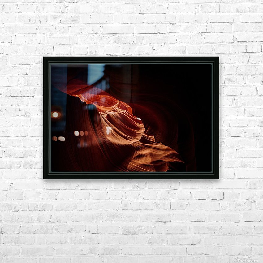 Antelope Canyon Arizona HD sublimation métal imprimé avec décoration flotteur cadre (boîte)