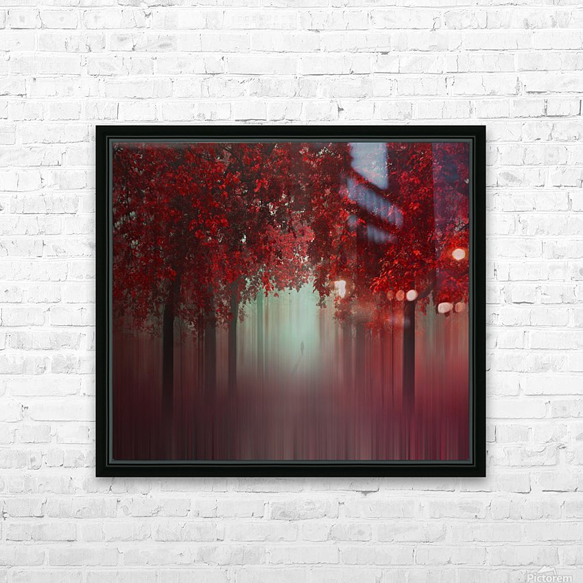 Out of Love HD Sublimation Metal print with Decorating Float Frame (BOX)