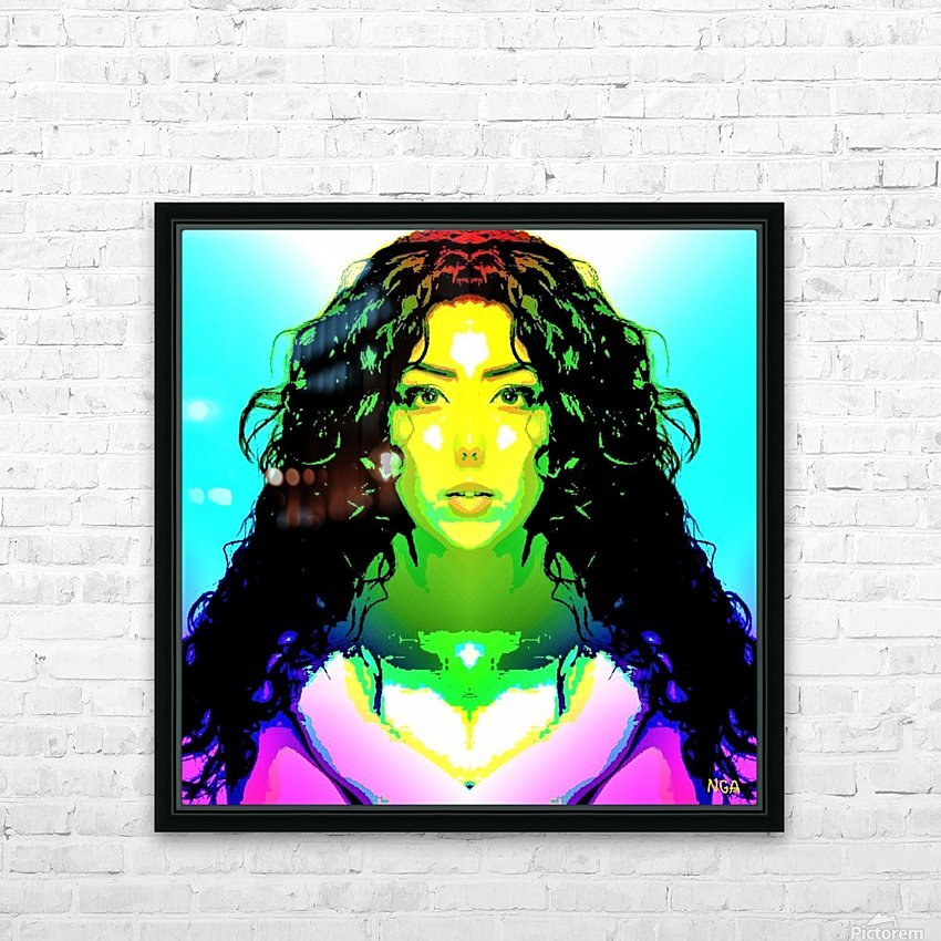 Simply Beautiful   by Neil Gairn Adams HD Sublimation Metal print with Decorating Float Frame (BOX)