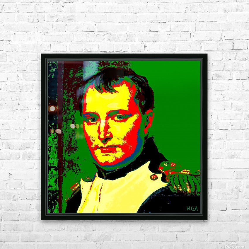 NAPOLEON  -  by Neil Gairn Adams HD Sublimation Metal print with Decorating Float Frame (BOX)