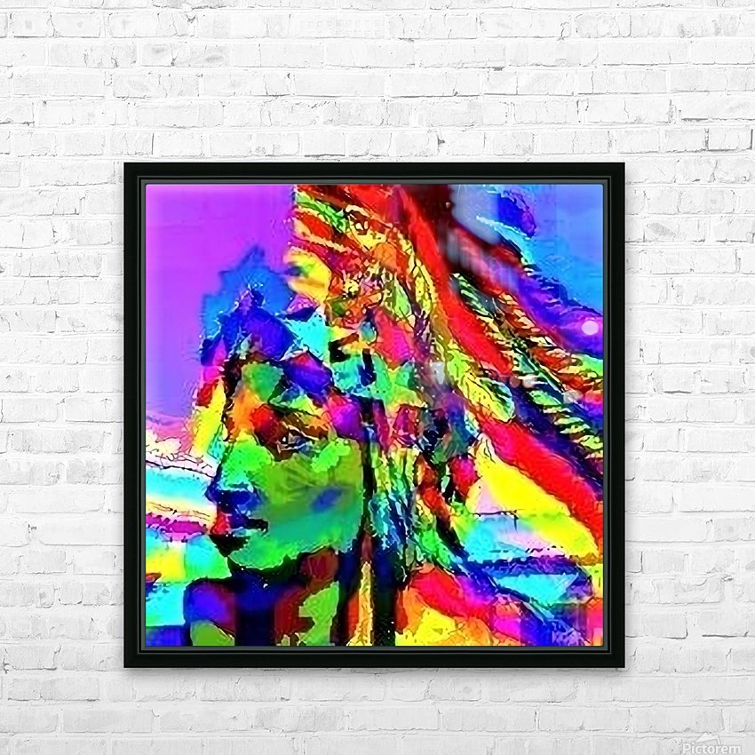 Star man  - by Neil Gairn Adams  HD Sublimation Metal print with Decorating Float Frame (BOX)