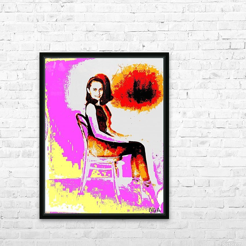 Pointed Toes - by Neil Gairn Adams HD Sublimation Metal print with Decorating Float Frame (BOX)