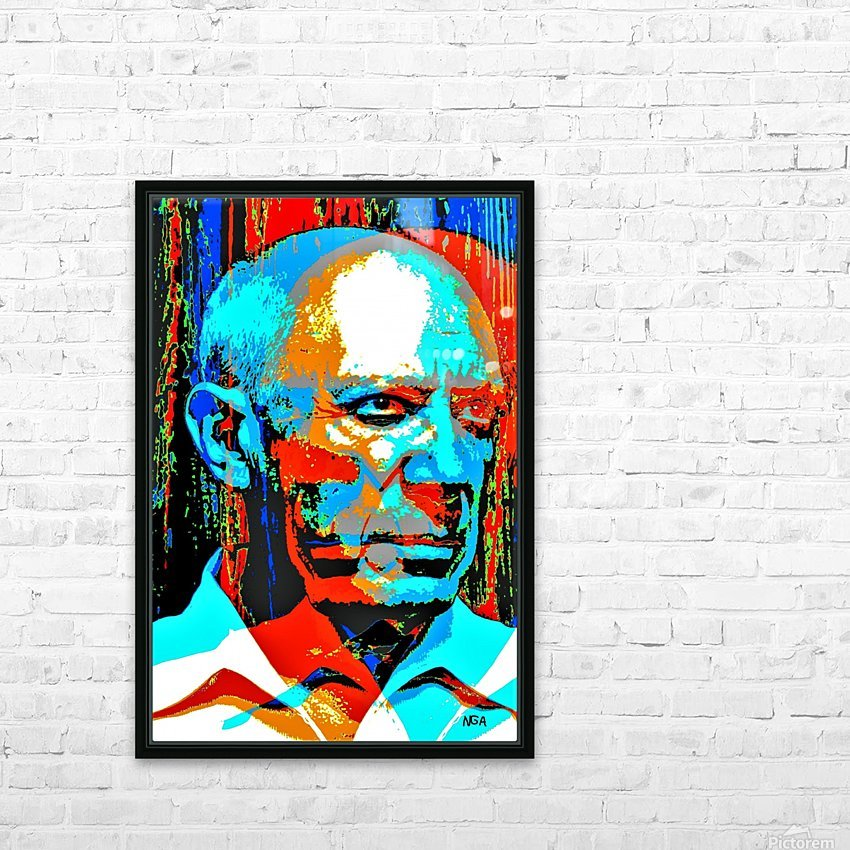 Pablo Picasso - by Neil Gairn Adams HD Sublimation Metal print with Decorating Float Frame (BOX)