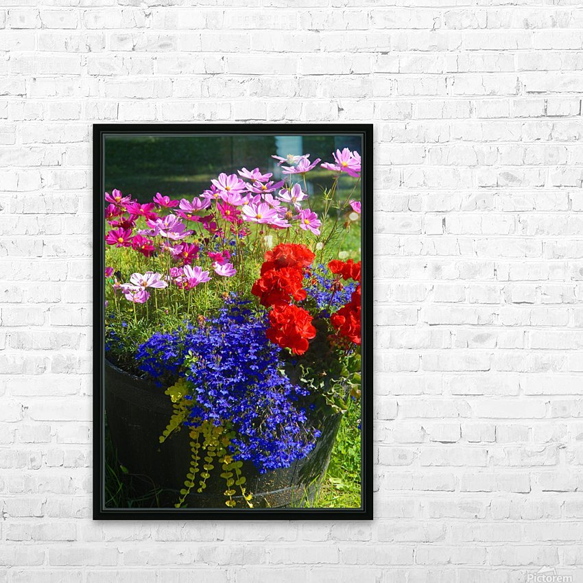 Alaskan Bouquet HD Sublimation Metal print with Decorating Float Frame (BOX)