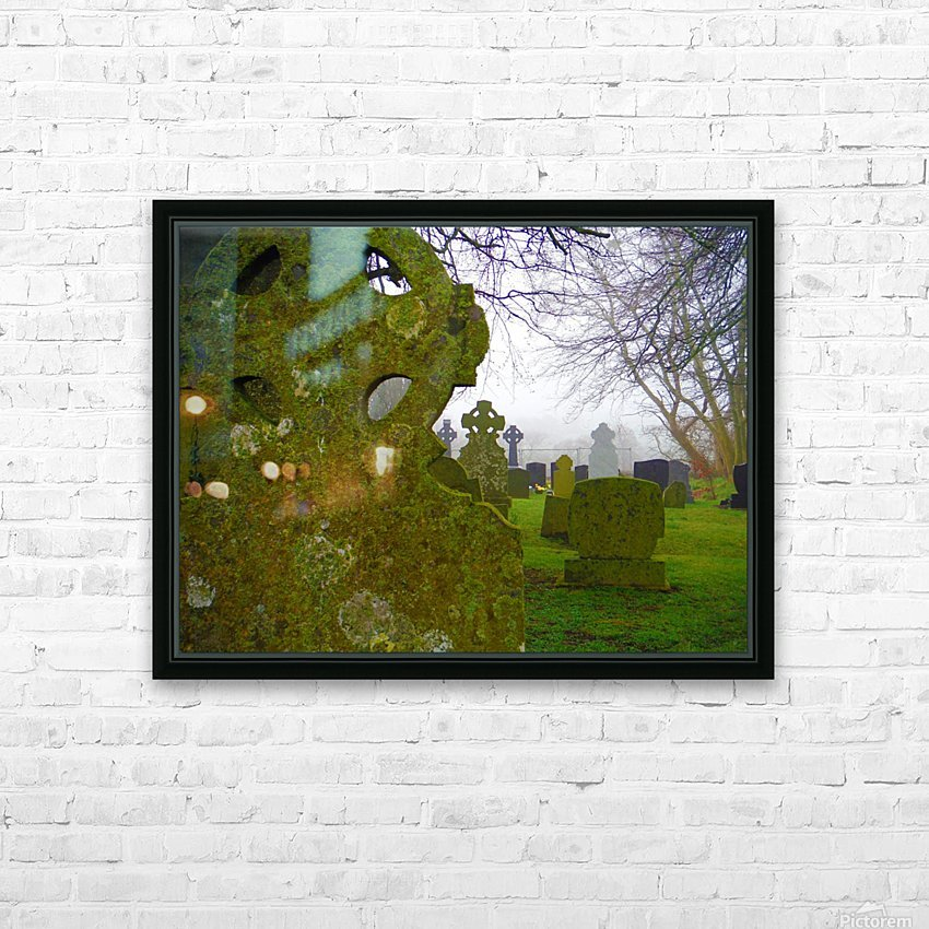 Irish Cemetery HD Sublimation Metal print with Decorating Float Frame (BOX)