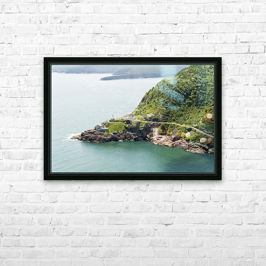 Johns Harbour from Signal Hill 2 HD Sublimation Metal print with Decorating Float Frame (BOX)