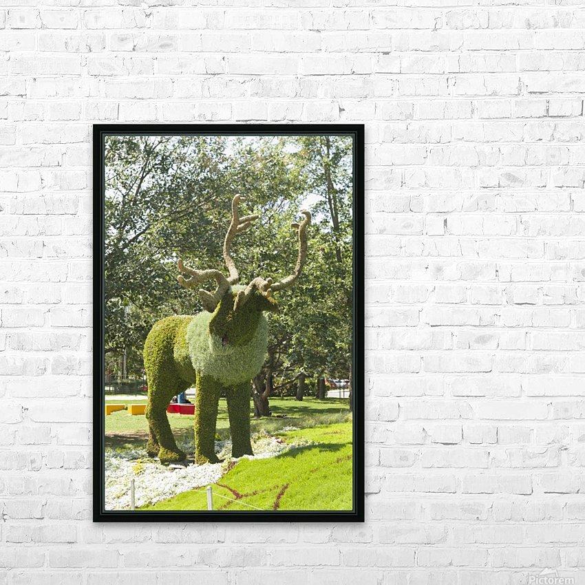 MosaïCanada 150 Display 5 HD Sublimation Metal print with Decorating Float Frame (BOX)