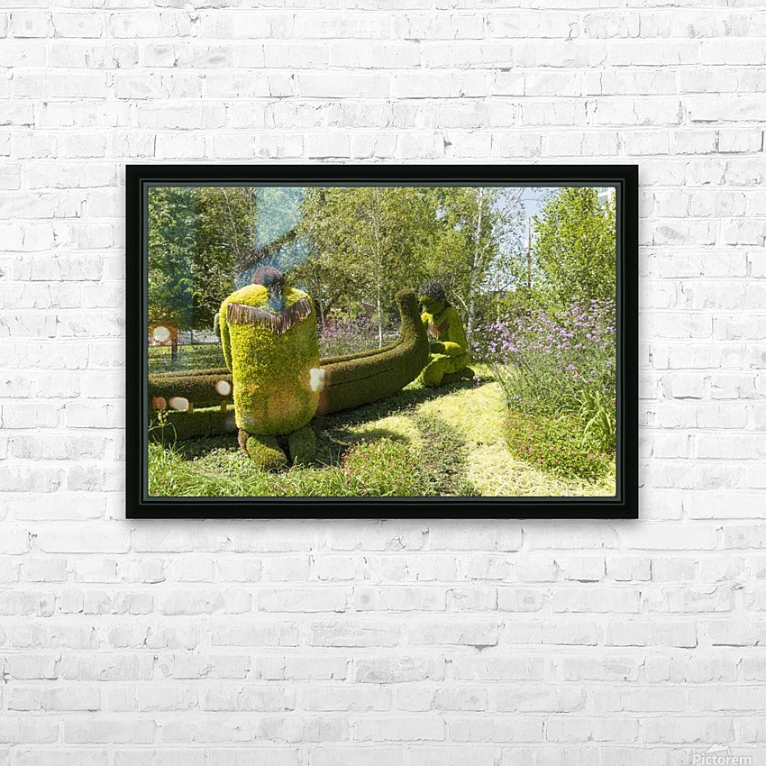 A Journey through the imaginary of the First Nations 4 HD Sublimation Metal print with Decorating Float Frame (BOX)