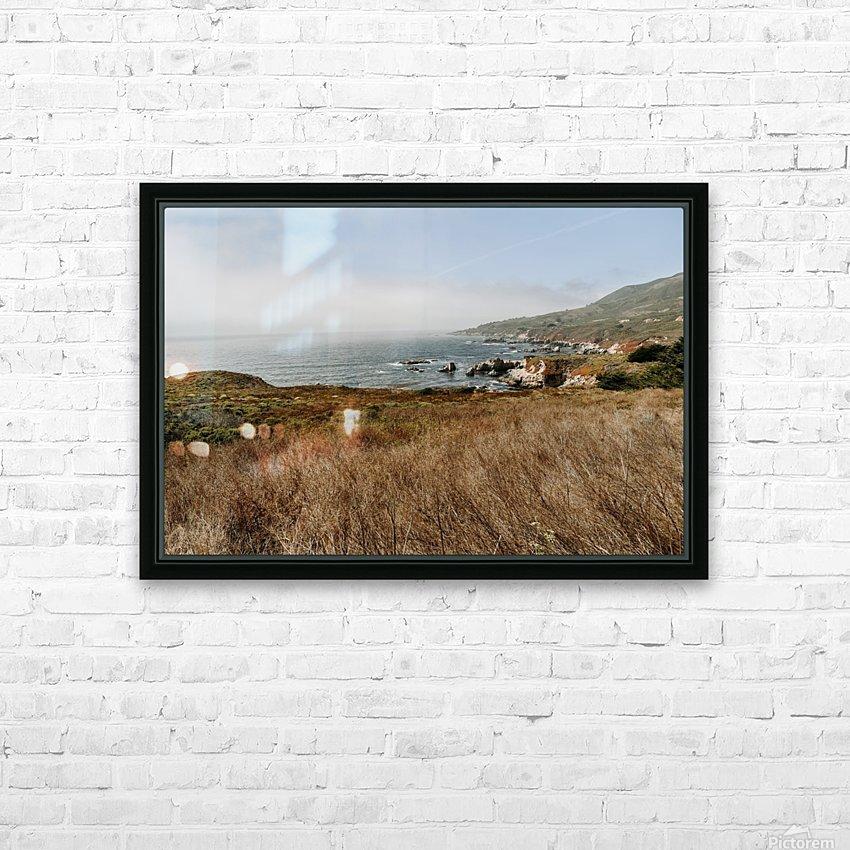 California Coast HD sublimation métal imprimé avec décoration flotteur cadre (boîte)