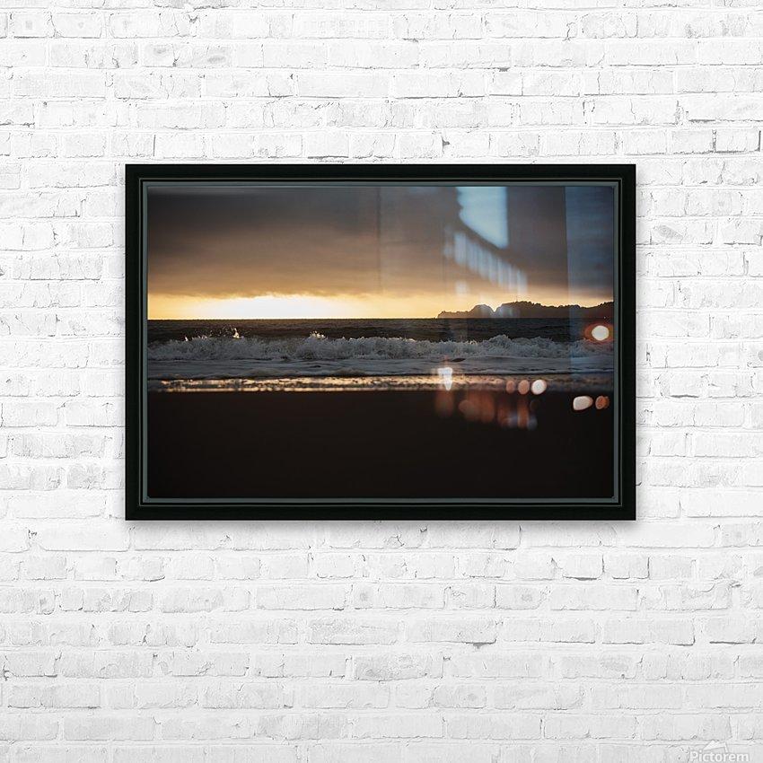 San Francisco Sunset HD sublimation métal imprimé avec décoration flotteur cadre (boîte)