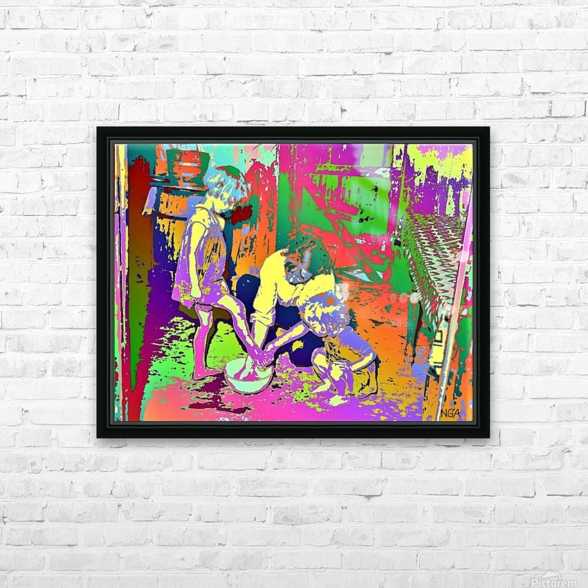 The Mother -  by Neil Gairn Adams  HD Sublimation Metal print with Decorating Float Frame (BOX)