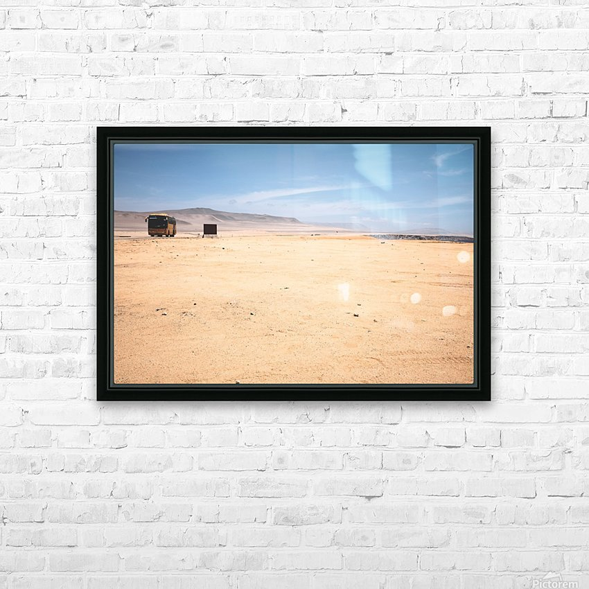 Reserva Nacional de Paracas HD Sublimation Metal print with Decorating Float Frame (BOX)
