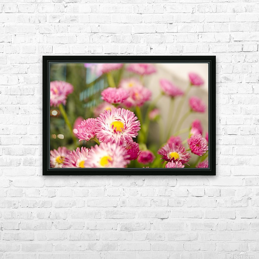 Blooms in the Garden HD Sublimation Metal print with Decorating Float Frame (BOX)