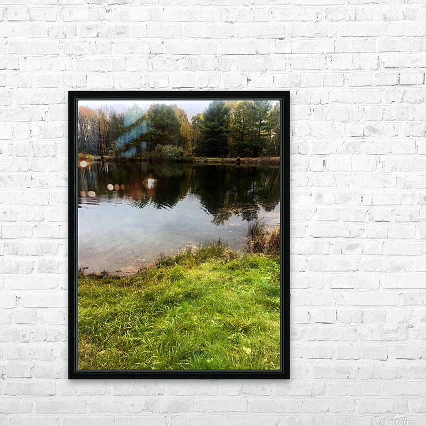 FALL RETREAT HD Sublimation Metal print with Decorating Float Frame (BOX)