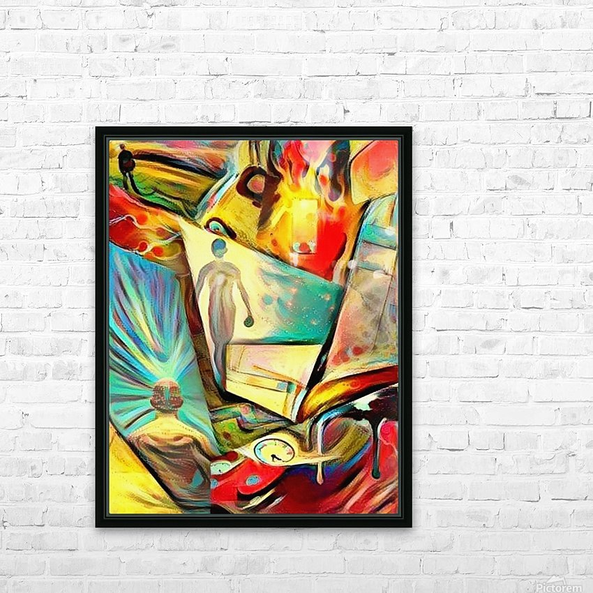 Piece of Mind HD Sublimation Metal print with Decorating Float Frame (BOX)