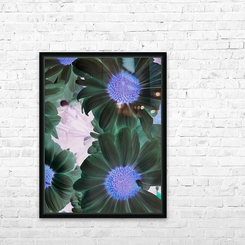 Purple44flow  HD sublimation métal imprimé avec décoration flotteur cadre (boîte)