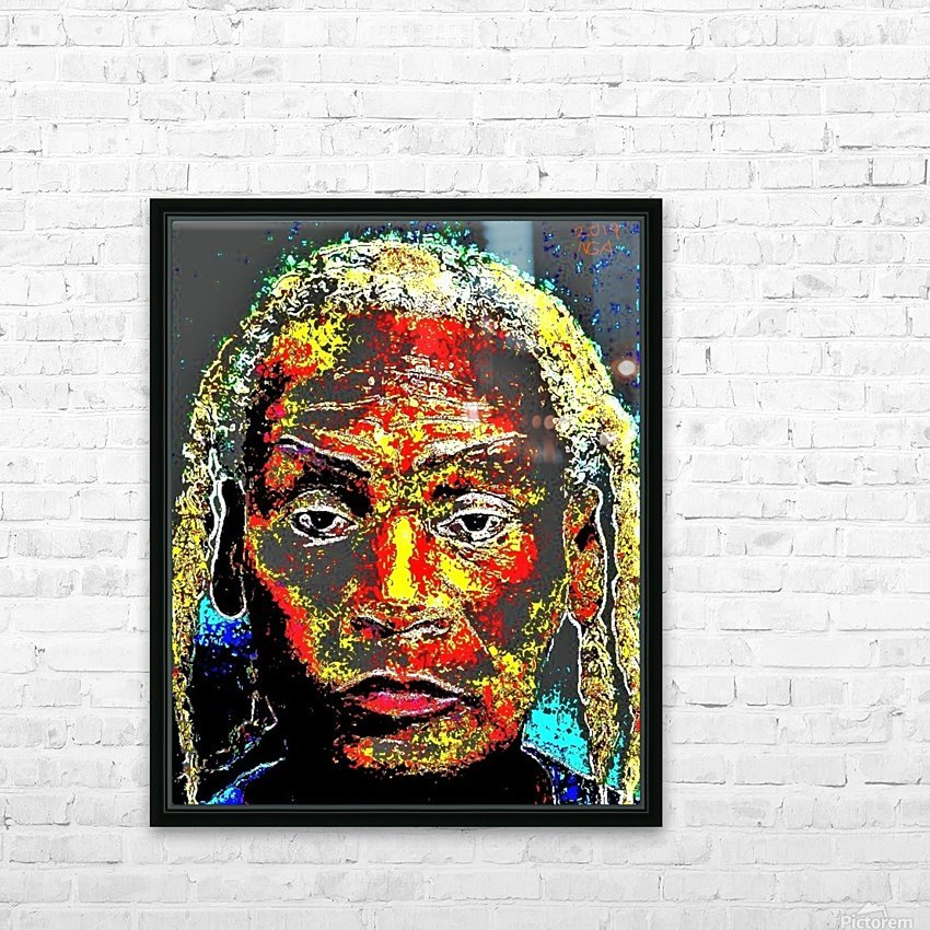 The Man - by Neil Gairn Adams HD Sublimation Metal print with Decorating Float Frame (BOX)