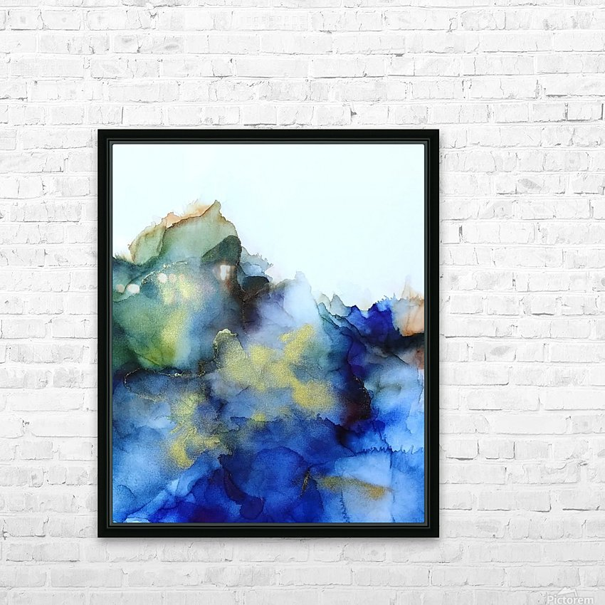 Tip of the Iceberg HD Sublimation Metal print with Decorating Float Frame (BOX)