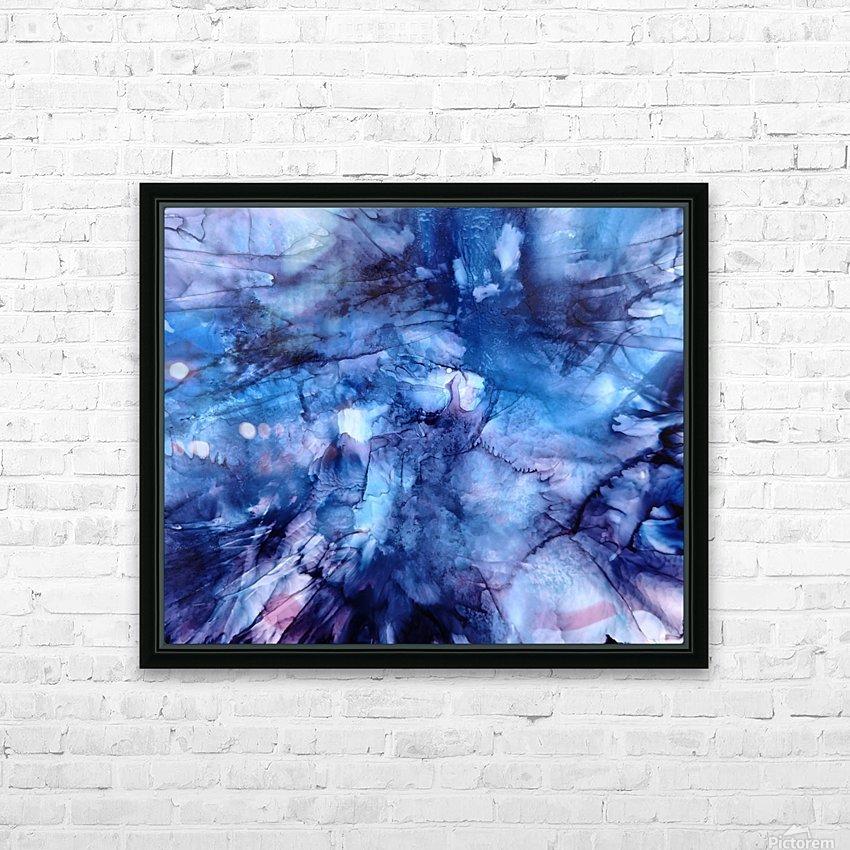 Splash HD Sublimation Metal print with Decorating Float Frame (BOX)