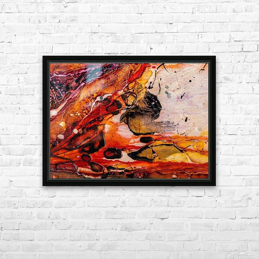 Sophia Un HD Sublimation Metal print with Decorating Float Frame (BOX)