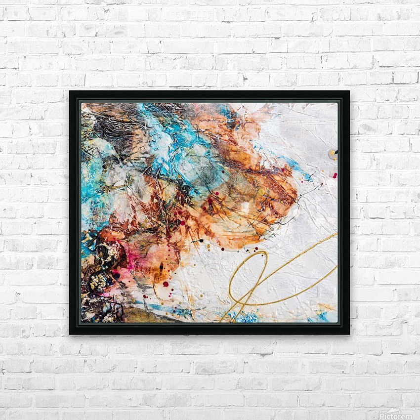 Sophia Six HD Sublimation Metal print with Decorating Float Frame (BOX)