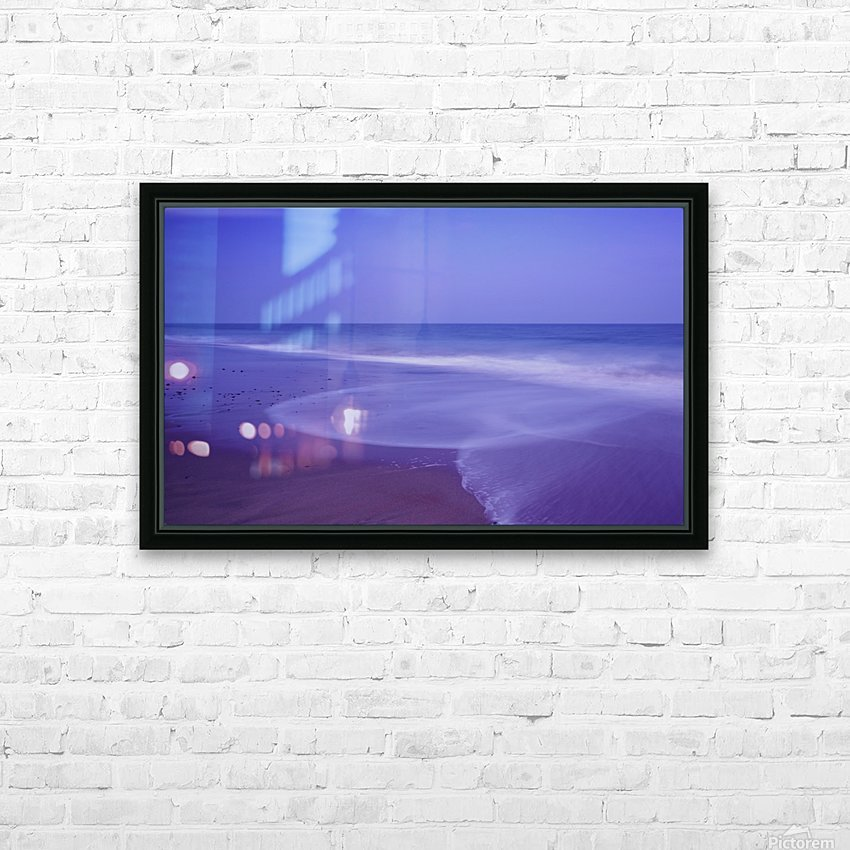 C 636 Ballybrannigan Beach HD Sublimation Metal print with Decorating Float Frame (BOX)