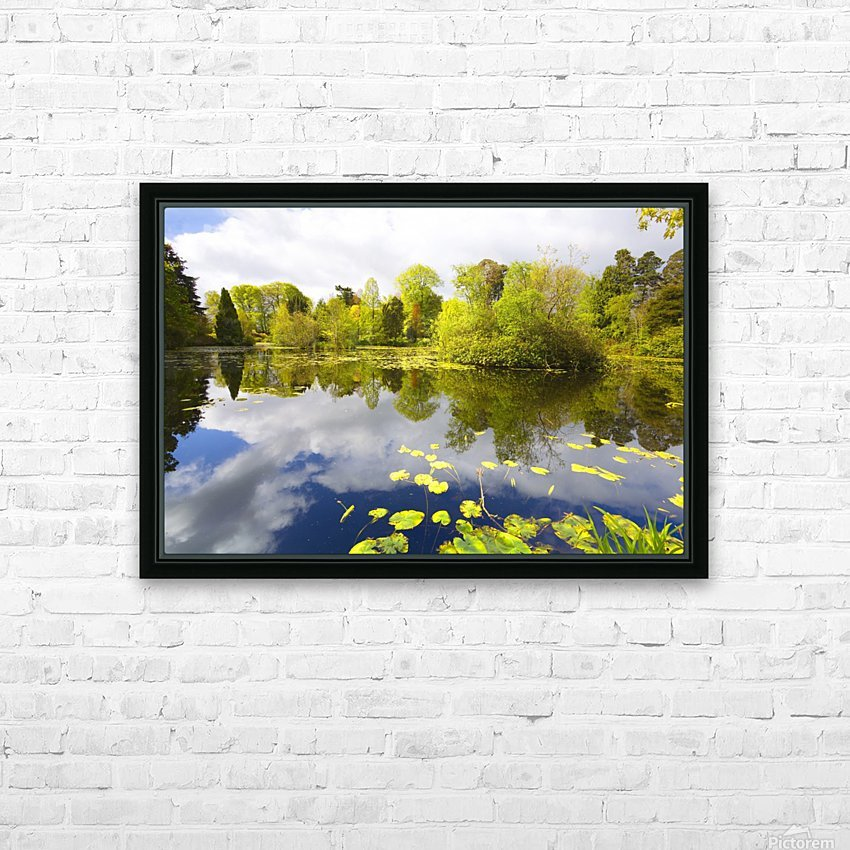 CW 029 Altamont Garden, Co.Carlow HD Sublimation Metal print with Decorating Float Frame (BOX)