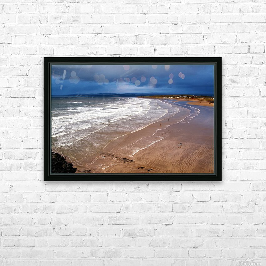 DL 006 Rossnowlagh HD Sublimation Metal print with Decorating Float Frame (BOX)