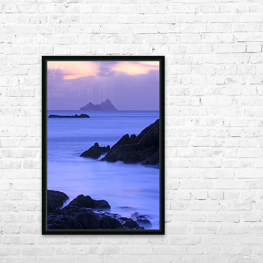 KY 281 Ballinskelligs Bay  HD Sublimation Metal print with Decorating Float Frame (BOX)