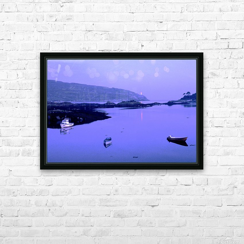 C 027 beara HD Sublimation Metal print with Decorating Float Frame (BOX)