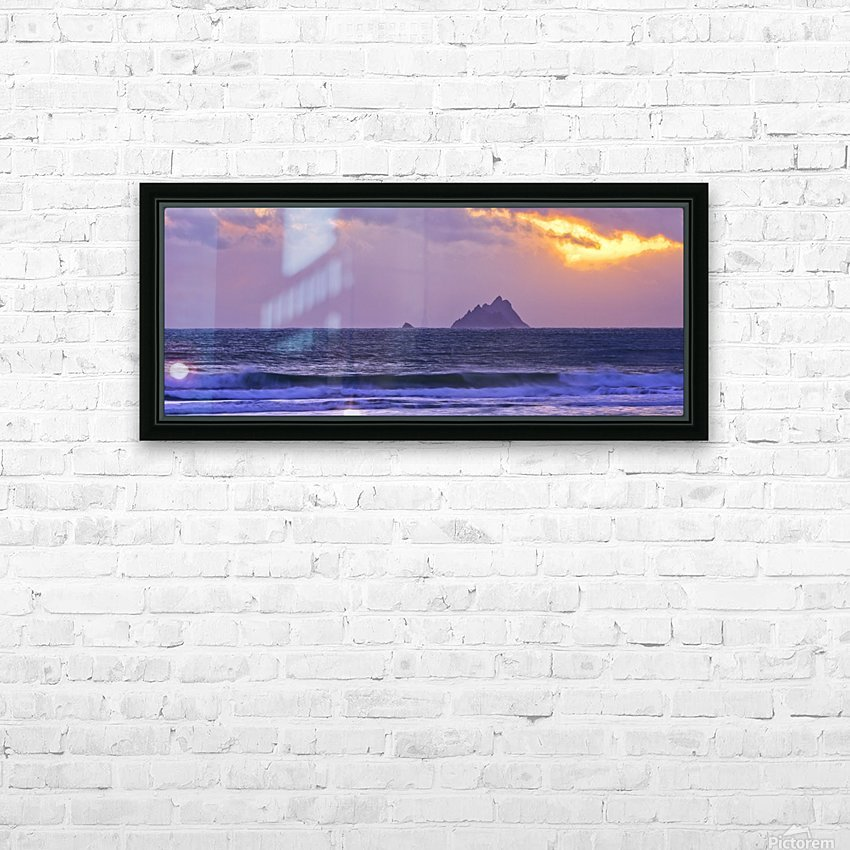 KY 280 Ballinskelligs Bay  HD Sublimation Metal print with Decorating Float Frame (BOX)