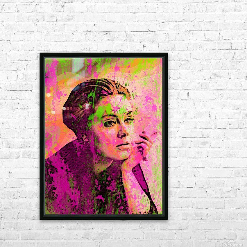 ADELE HD Sublimation Metal print with Decorating Float Frame (BOX)