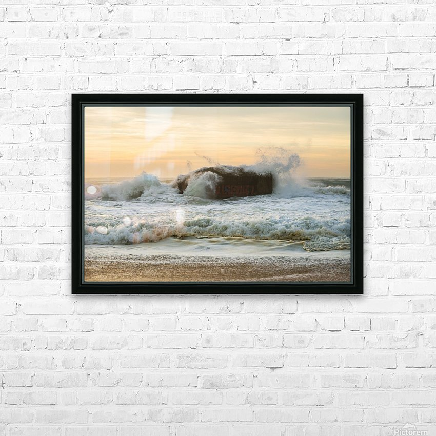 SEA BUNKERS  HD Sublimation Metal print with Decorating Float Frame (BOX)
