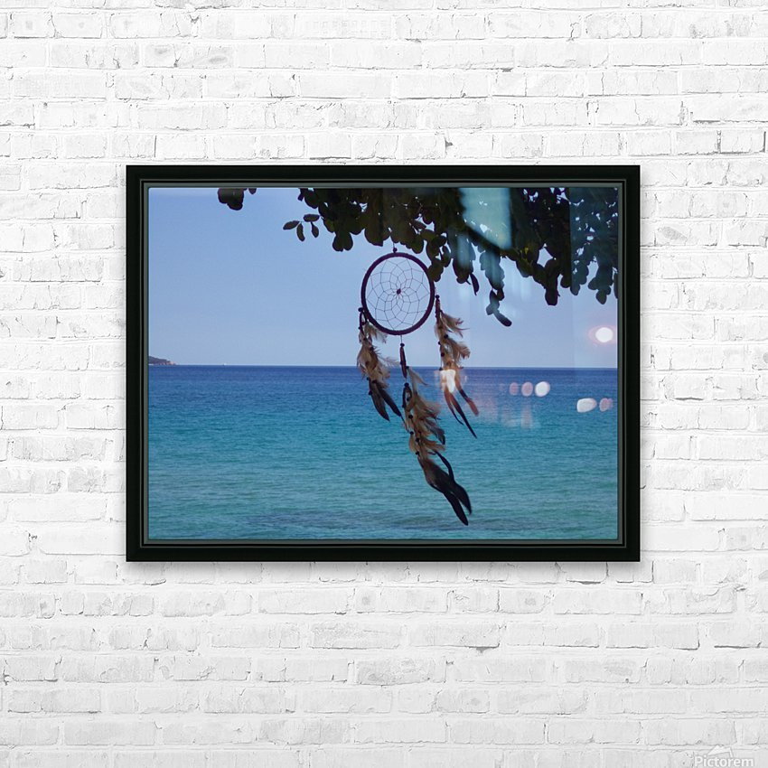 Dreams by the sea HD Sublimation Metal print with Decorating Float Frame (BOX)
