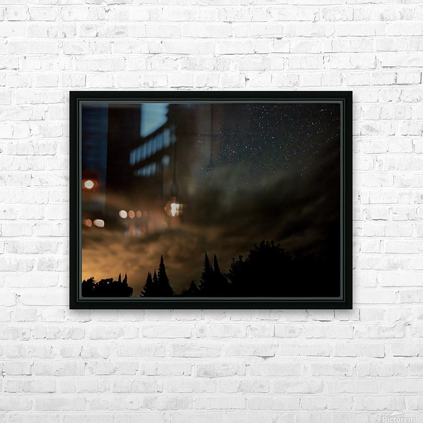 Portal HD Sublimation Metal print with Decorating Float Frame (BOX)