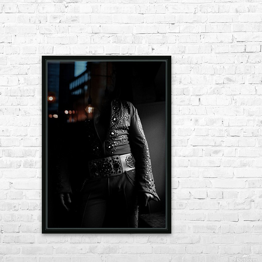 ELVIS HD Sublimation Metal print with Decorating Float Frame (BOX)