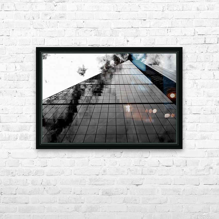 The Skyscraper HD Sublimation Metal print with Decorating Float Frame (BOX)