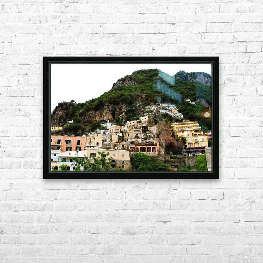 Landscape - Beautiful Village - Italy HD Sublimation Metal print with Decorating Float Frame (BOX)